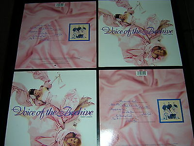 4 Voice Of The Beehive Album Sleeves  - Honey Lingers