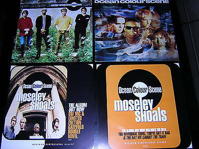"1 Ocean Colour Scene Album Sleeve + 3 Promotional 12""x12"" Cards"