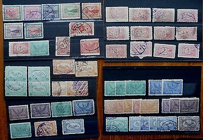 Saudi Arabia: 120 stamps, includes many earlies.  Also mn/h 1976 2R Kaaba x2