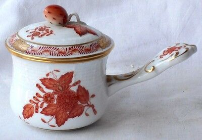 Herend Hand Painted Pot De Creme