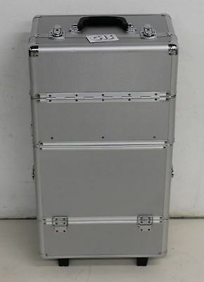 NEW GHS Aluminium Quality Cosmetic Makeup Beauty Hairdressing Trolley Vanity