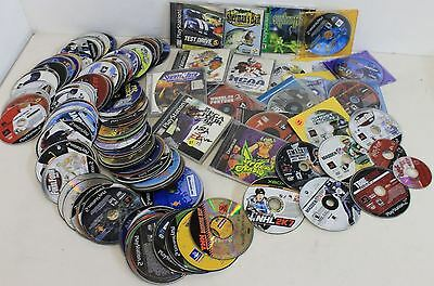 JOB LOT 190 Video Games Discs Sony Playstation 1 PS 2 Xbox Gamecube Dreamcast