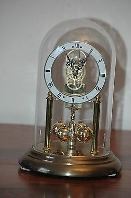 Antique/vintage Hermle Quartz German Anniversary Clock.