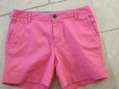 Fat Face Womens lovey soft canvas Chino SHORTS in Pink sz UK 10