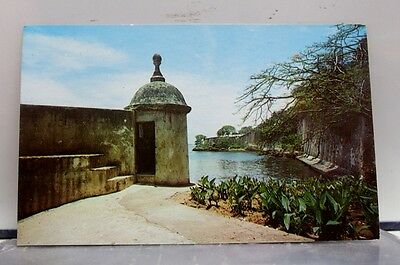 Puerto Rico Sentry Boxes San Juan Postcard Old Vintage Card View Standard Post