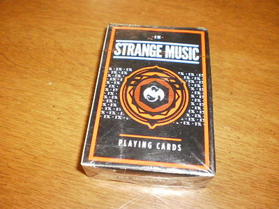 Strange Music IX Adv Playing Cards~VIP Package Promo~Tech N9ne Hip Hop~NIP