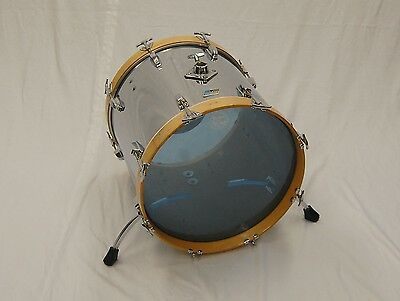 """Vintage Ludwig 18"""" x 16"""" Chrome O Wood  'Bass Drum' - Converted"""
