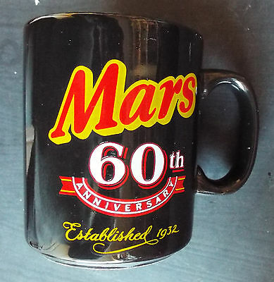 Mars '60th Anniversary' Pottery Mug