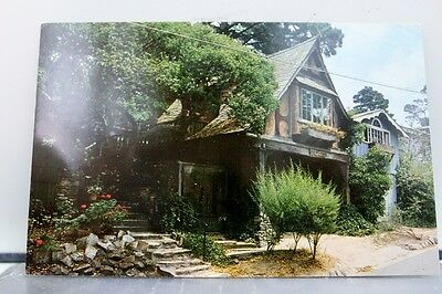 California CA Carmel by the Sea Swiss Chalet Postcard Old Vintage Card View Post