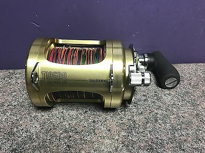 Shamano Tiggra 50W 2 Speed Fishing Reel