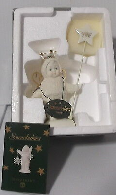 """Department 56 - Snowbabies - """"SHINE""""  2002 Tag And Box Mint"""