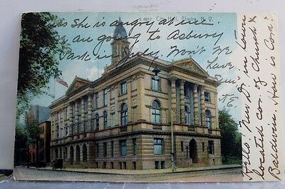 New York NY Elmira City Hall Postcard Old Vintage Card View Standard Souvenir PC