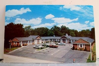 New York NY White Plains County Center Motel Postcard Old Vintage Card View Post