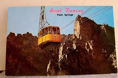 California CA Palm Springs Aerial Tramway Postcard Old Vintage Card View Post PC