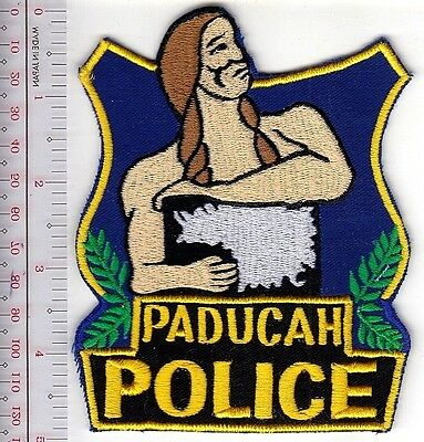 Kentucky Police Department City of Paducah Police Deparment McCracken County, KY