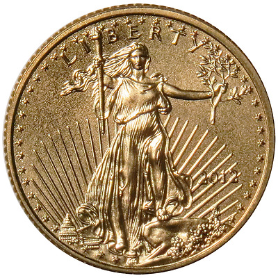 2012 $5 American Gold Eagle 1/10 oz Brilliant Uncirculated