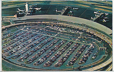 La Guardia Airport, New York, NY. Postcard 1960s