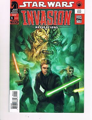 Star Wars: Invasion Revelations #1 (2011 Dark Horse)  May The Force Be With You