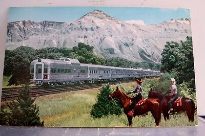 Train Railroad Denver Zephyr Postcard Old Vintage Card View Standard Souvenir PC