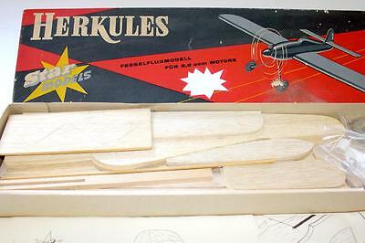 Very Rare German Star Models Herkules U-Control Model Airplane Kit