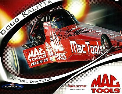 DOUG KALITTA - Authentic Hand Signed Autographed Driver's Postcard