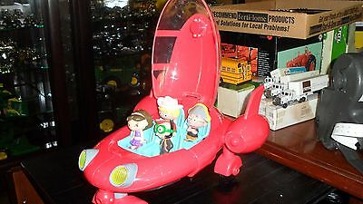 Little Einsteins Rocket ship RARE tested and working 4 charactors  & no screen