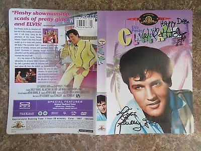 Signed Autographed DVD Cover Clambake  - Will Hutchins & Shelley Fabares