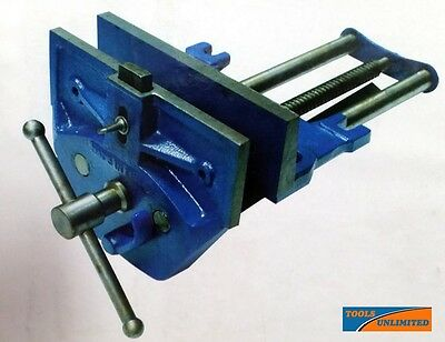 "WV-180 Automatic Quick Release Wood Working Vice with Front Dog 178mm (7"")  V187"