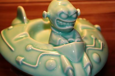 Rare JAPAN Release~Acme Bakeware~Squid Design Goon UFO Ashtray rat fink tiki mug