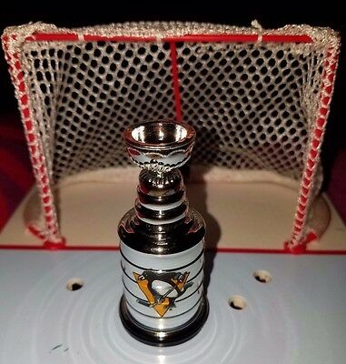 PITTSBURGH penguins 2017 mini LORD stanley CUP playoff TROPHY hockey NHL crosby