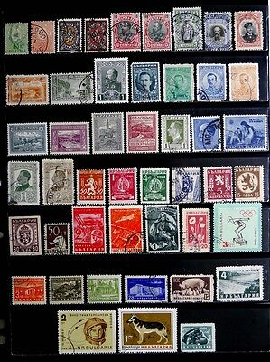 Bulgaria:  Classic Era To 1960's Stamp Collection