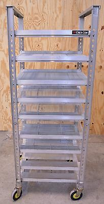 Cres-Cor 207UA13 Aluminum Bakery Bread Bun Pan Rolling Oven Rack Tall Trays