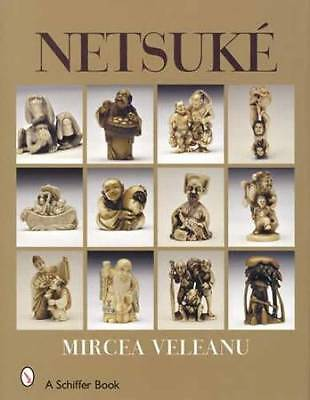 Antique, Vintage Netsuke Collector ID Guide Japanese Asian Art Carvings