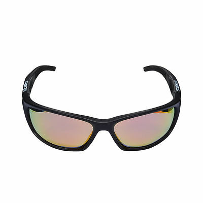 RockBros Cycling Outdoor Polarized Sunglasses TR90 Full Frame Goggles Black Red