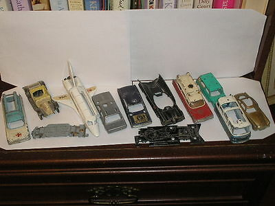 Dinky& Corgi Collection Spares And Repair Bat Man James Bond Man From Uncle