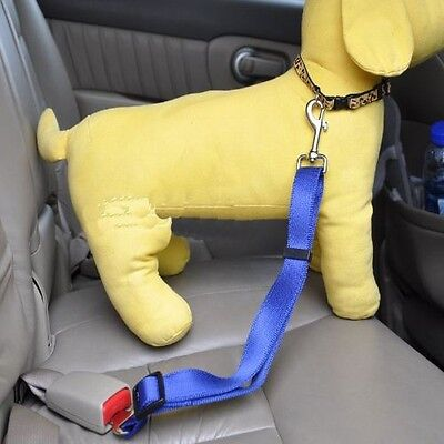 Dog Car Seat Harness/Safety Harness Adjustable/Retractable Safety Solid Colorful