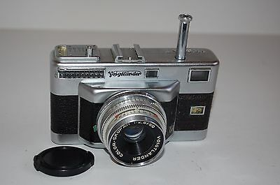 Voigtlander Vitessa T Rangefinder Camera. No.13289. Serviced. UK Sale