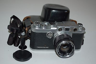 Yashica-YE Vintage Japanese Rangefinder Camera. Serviced. No.699143. UK Sale.