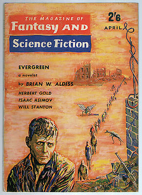 The Magazine of Fantasy & Science Fiction April 1962