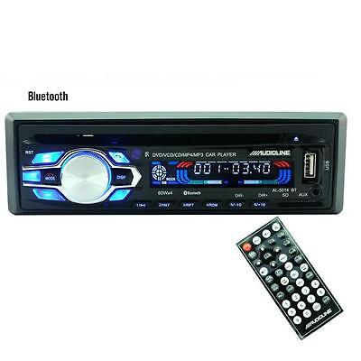 Bluetooth Car Stereo Audio CD In-Dash FM Aux Input Receiver SD USB MP3 Radio HOT