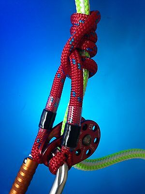 75CM LONG 8mm ROPE PRUSIK for ARBORIST TREE SURGERY RIGGING CLIMBING..