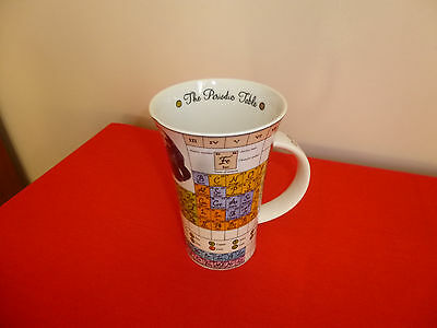 Large Dunoon ~  The Periodic Table Mug ~ Designed By Jane Goodwin  ~ Unused ~