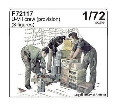 CMK F72117 WWII German Crew Loading Provision for U-Boot VII Figuren in 1:72