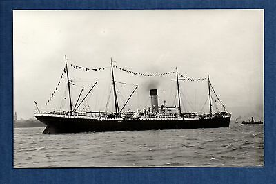 White Star Line - Medic (1899) - photograph postcard size