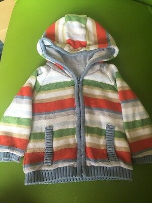 12-18 Months Boys Lined Cardigan
