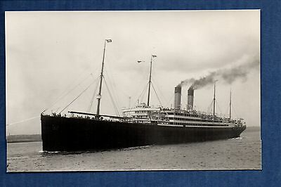 White Star Line - Baltic (1904) - photograph postcard size