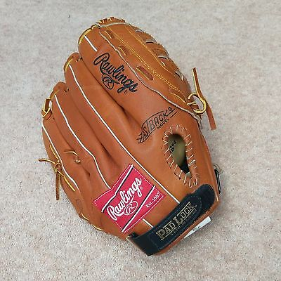 "Rawlings RTD 51 Series 13 1/2"" Inch Leather Left Hand LH Baseball Glove Mitt"