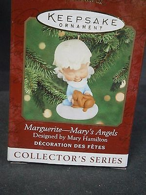 """Hallmark Mary's Angels """"marguerite"""" Ornament 13Th In Series"""