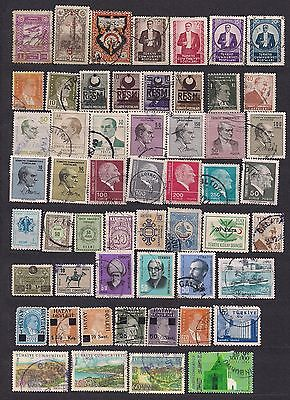 Turkey lot 65 early stamps.
