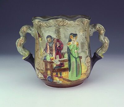 Royal Doulton - The Apothecary - Relief Moulded Loving Cup - Limited Edition!